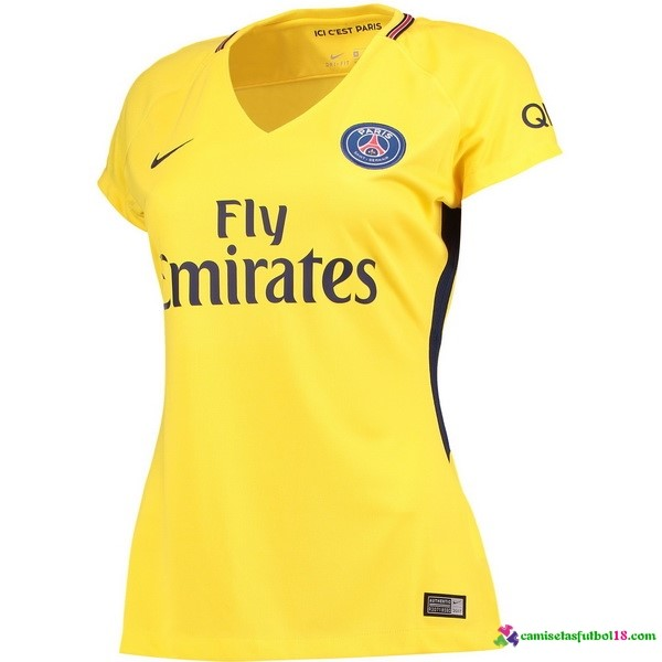 Camiseta 2ª Kit Mujer Paris Saint Germain 2017 2018