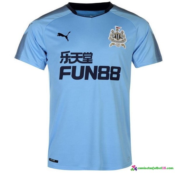 Camiseta 2ª Kit Newcastle United 2017 2018