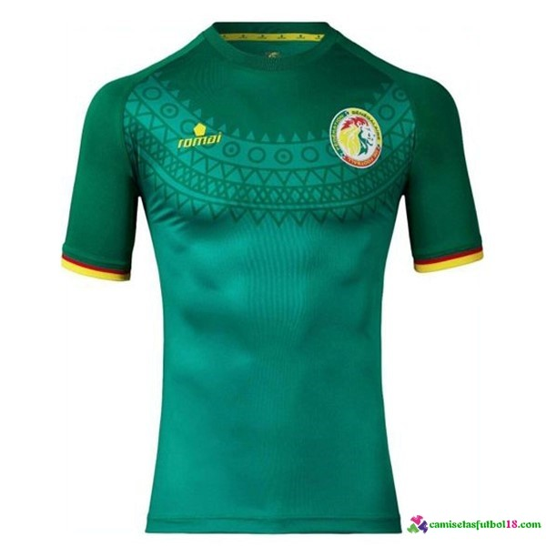 Camiseta 2ª Kit Senegal 2017