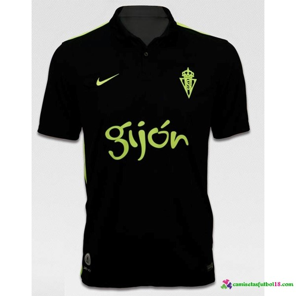 Camiseta 2ª Kit Sporting Gijon 2016 2017