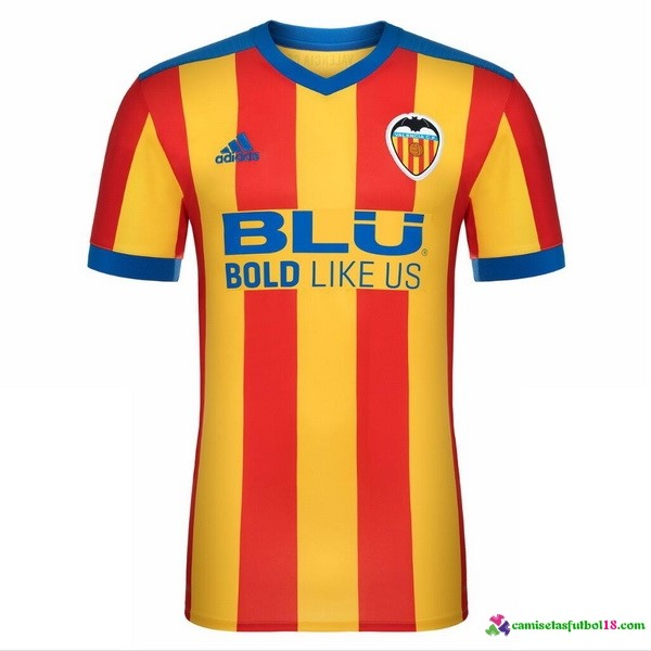 Camiseta 2ª Kit Valencia 2017 2018