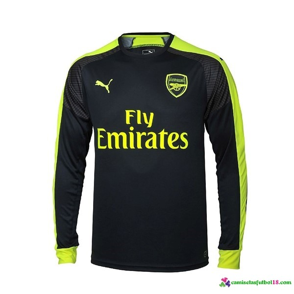 Camiseta 3ª Kit ML Arsenal 2016 2017