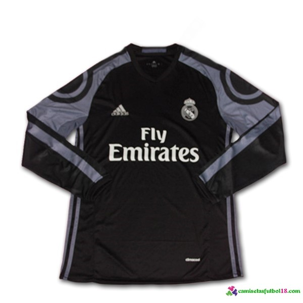 Camiseta 3ª Kit ML Real Madrid 2016 2017