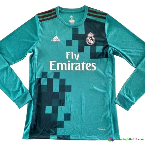 Camiseta 3ª Kit ML Real Madrid 2017 2018
