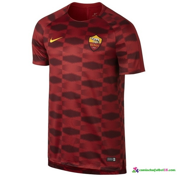Camiseta Entrenamiento AS Roma 2017 2018 Rojo