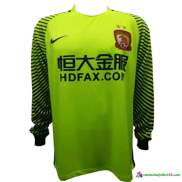 Camiseta ML Evergrande Portero 2017 2018 Verde