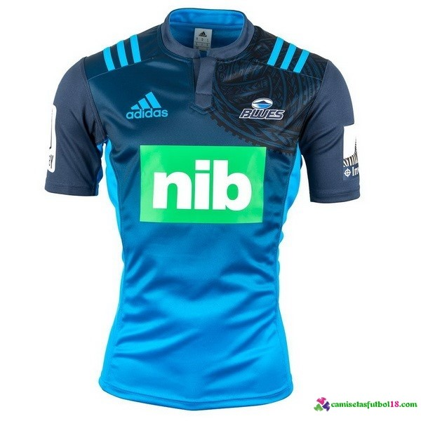 Camisetas Rugby 1ª Kit Blues 2016