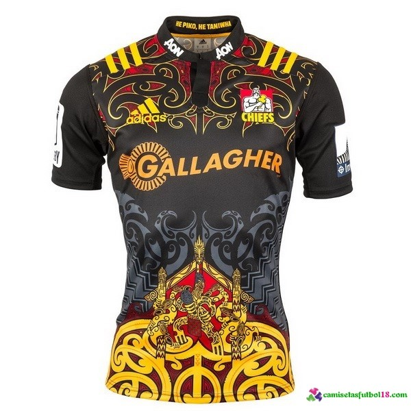 Camisetas Rugby 1ª Kit Chiefs 2016