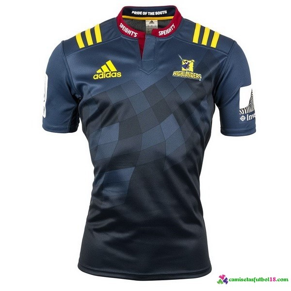 Camisetas Rugby 1ª Kit Highlanders 2016
