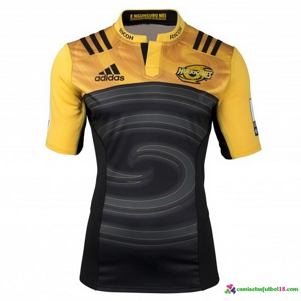 Camisetas Rugby 1ª Kit Hurricanes 2016