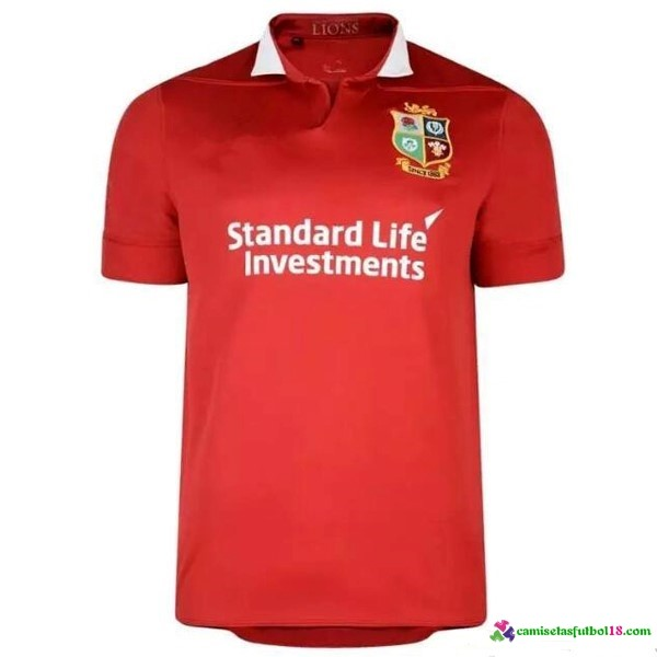 Camisetas Rugby 1ª Kit Irish Lions 2016 2017