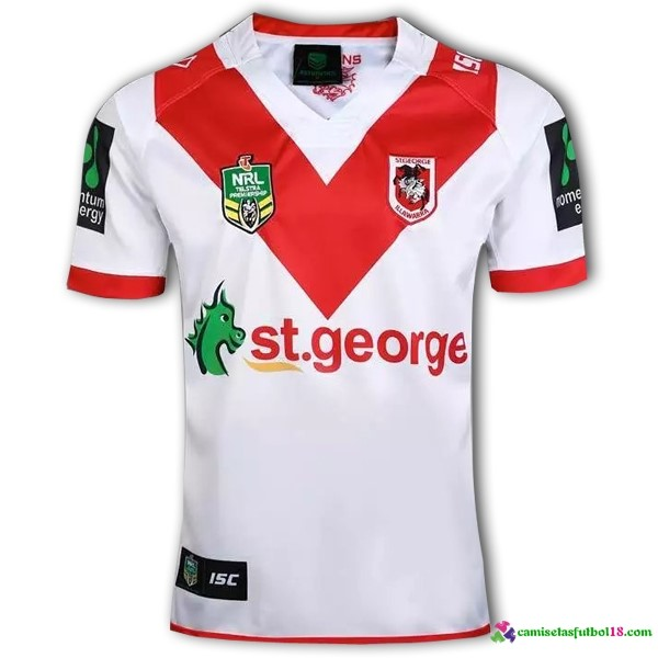 Camisetas Rugby 1ª Kit ST George 2016 2017