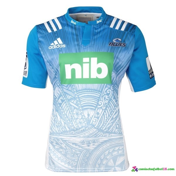 Camisetas Rugby 2ª Kit Blues 2016