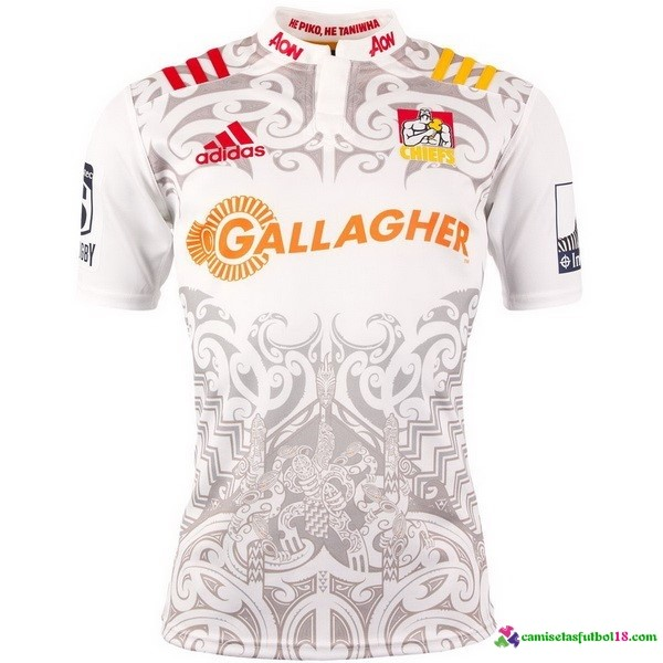 Camisetas Rugby 2ª Kit Chiefs 2016