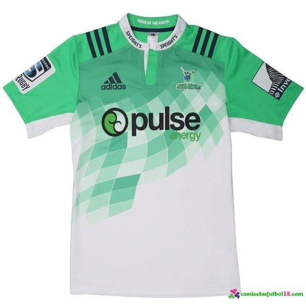 Camisetas Rugby 2ª Kit Highlanders 2016