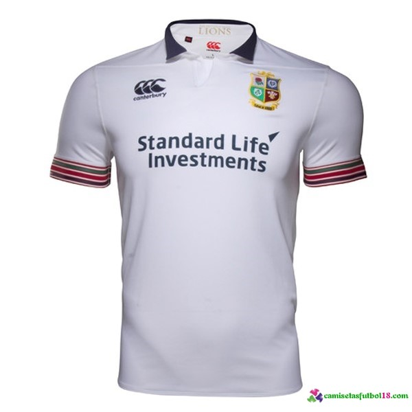 Camisetas Rugby 3ª Kit Irish Lions 2016 2017