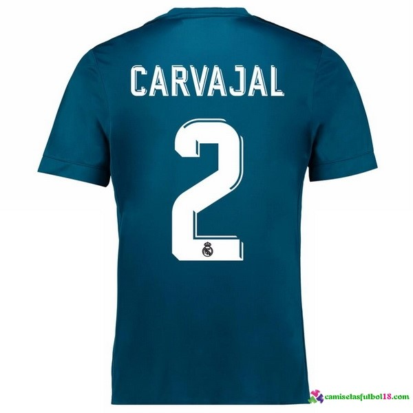 Carvajal 2 Camiseta 3ª Kit Real Madrid 2017 2018