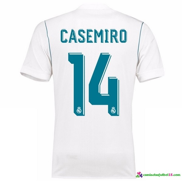 Casamiro Camiseta 1ª Kit Real Madrid 2017 2018