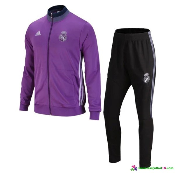 Chándal Entrenamiento Real Madrid 2016 2017 Purpura