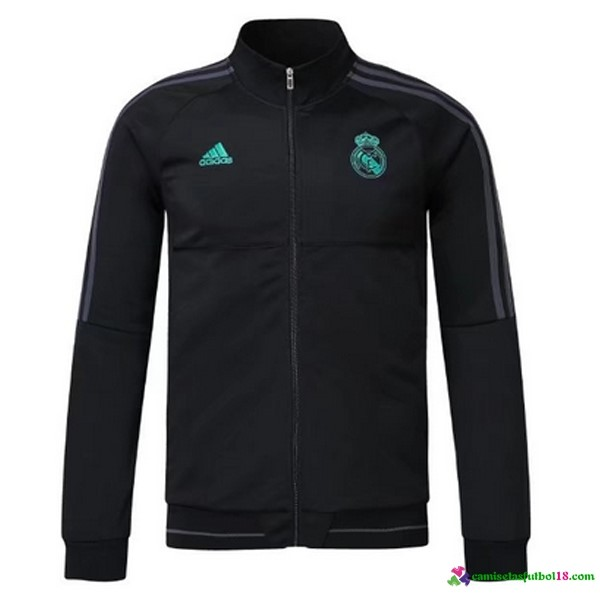 Chaqueta Real Madrid 2017 2018 Negro