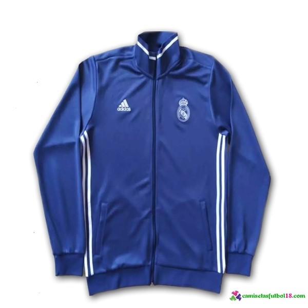 Chaqueta Real Madrid Azul 2016 2017