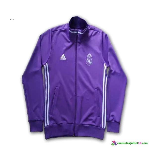 Chaqueta Real Madrid Purpura 2016 2017