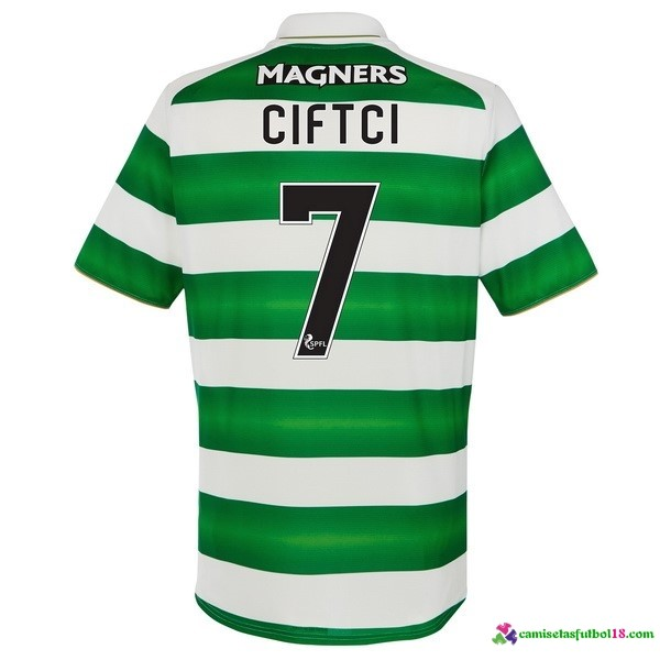 Ciftci Camiseta 1ª Kit Celtic 2016 2017