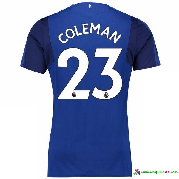 Coleman Camiseta 1ª Kit Everton 2017 2018