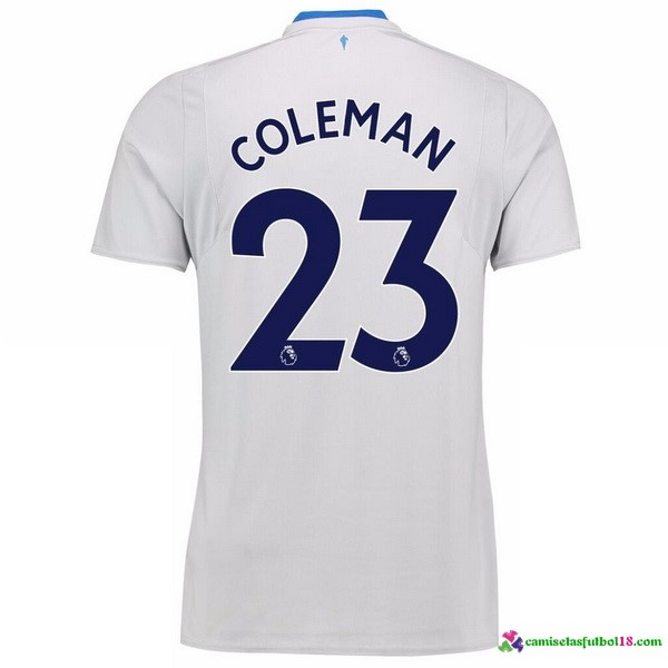 Coleman Camiseta 2ª Kit Everton 2017 2018