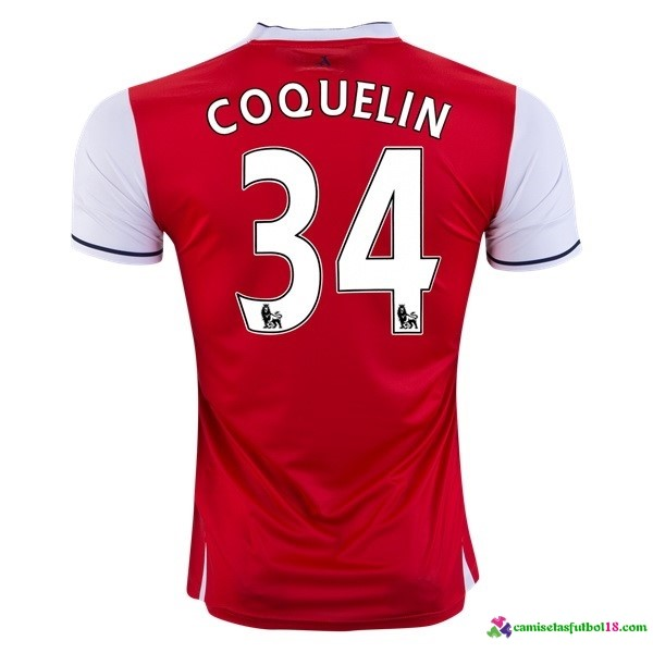 Coquelin Camiseta 1ª Kit Arsenal 2016 2017
