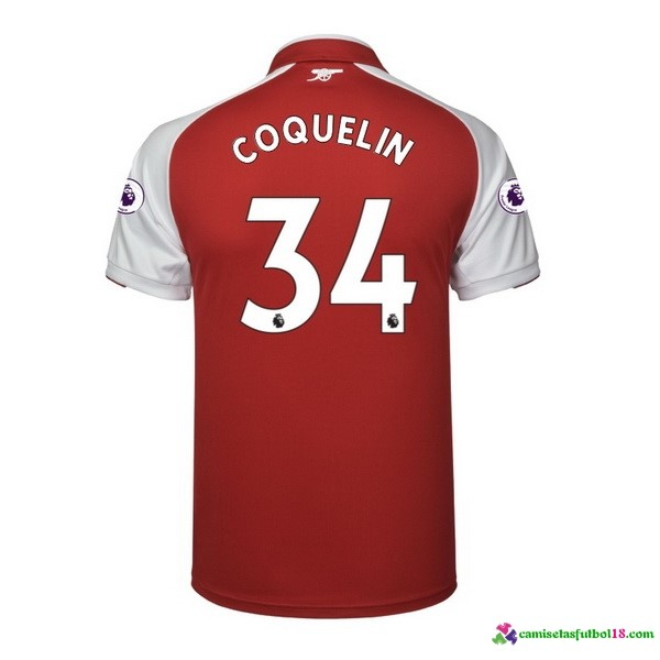 Coquelin Camiseta 1ª Kit Arsenal 2017 2018