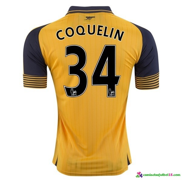 Coquelin Camiseta 2ª Kit Arsenal 2016 2017
