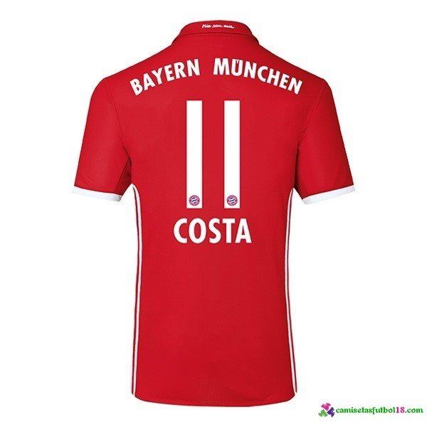 Costa Camiseta 1ª Kit Bayern Munich 2016 2017