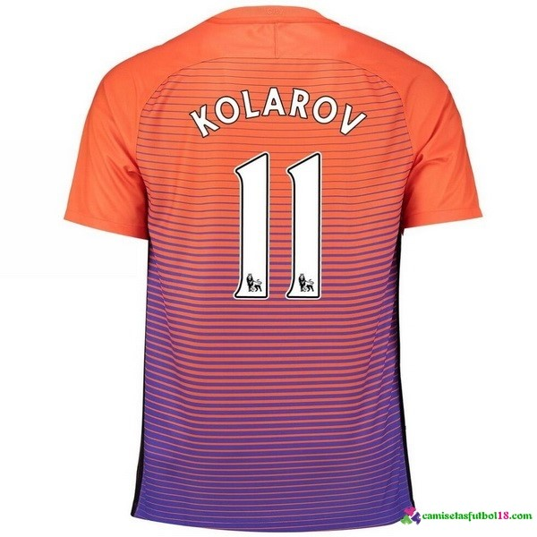 Kolarov Camiseta 3ª Kit Manchester City 2016 2017