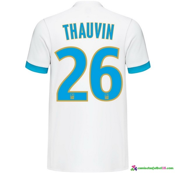 Thauvin Camiseta 1ª Kit Marsella 2017 2018