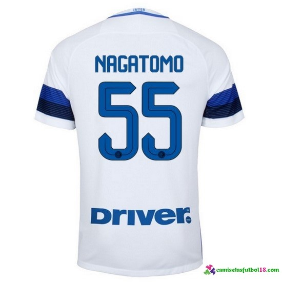 Nagatomo Camiseta 2ª Kit Inter Milan 2016 2017