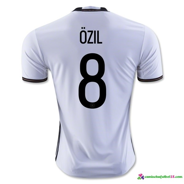 Ozil Camiseta 1ª Kit Alemania 2016