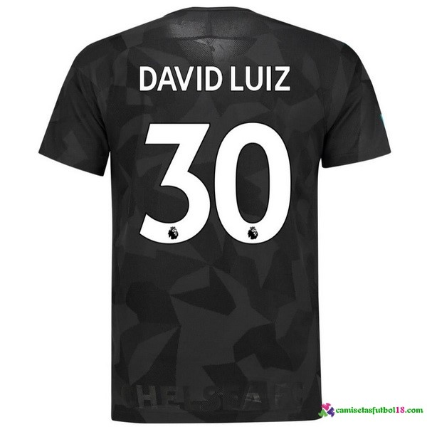 David Luiz Camiseta 3ª Kit Chelsea 2017 2018