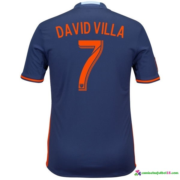 David Villa Camiseta 2ª Kit New York City 2016 2017