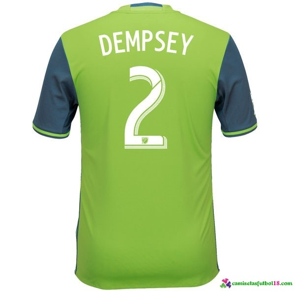 Dempsey Camiseta 1ª Kit Seattle Sounders 2016 2017
