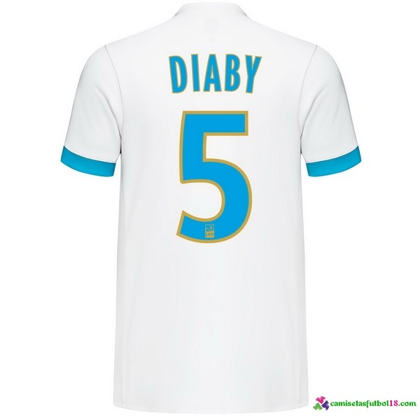 Diaby Camiseta 1ª Kit Marsella 2017 2018