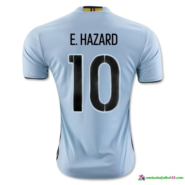 E.Hazard Camiseta 2ª Kit Belgica 2016
