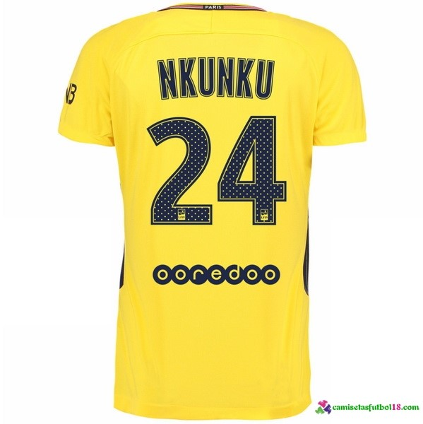 Nkunku Camiseta 2ª Kit Paris Saint Germain 2017 2018