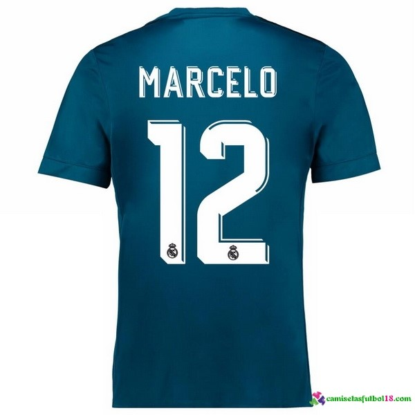 Marcelo Camiseta 3ª Kit Real Madrid 2017 2018