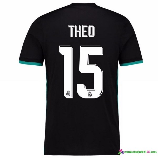Theo Camiseta 2ª Kit Real Madrid 2017 2018