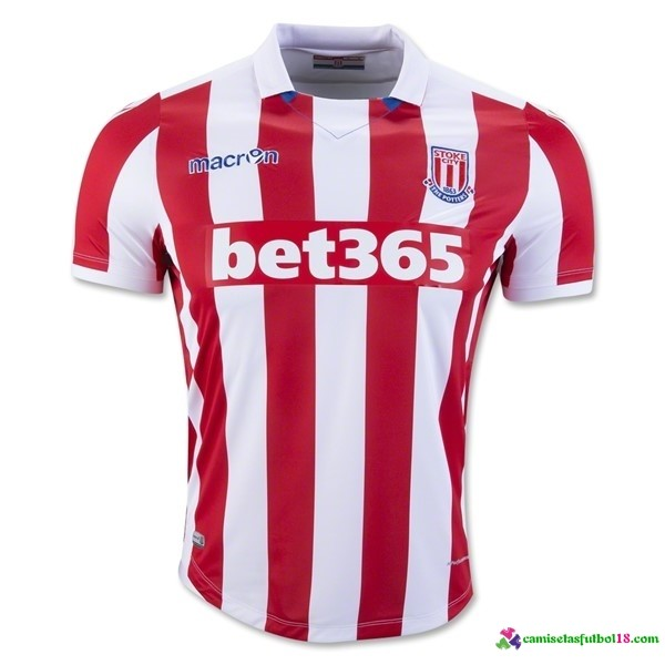 Camiseta 1ª Kit Stoke City 2016 2017