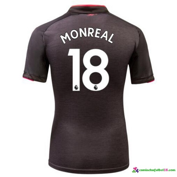 Monreal Camiseta 3ª Kit Arsenal 2017 2018