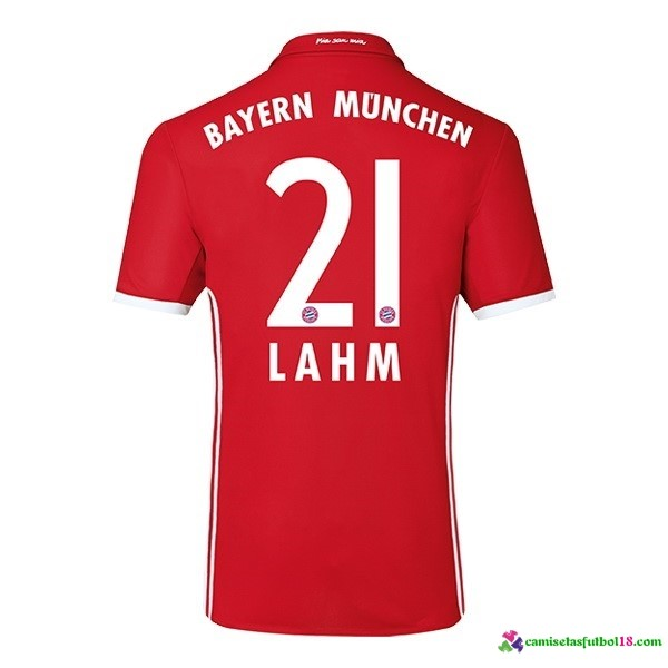 Lahm Camiseta 1ª Kit Bayern Munich 2016 2017