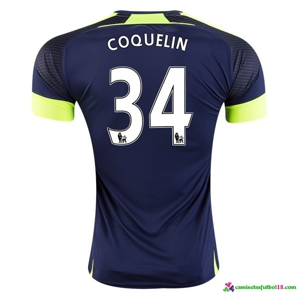 Coquelin Camiseta 3ª Kit Arsenal 2016 2017