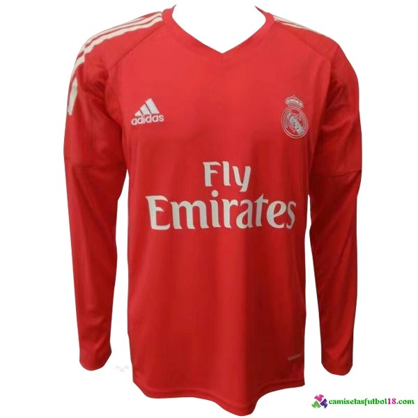 Camiseta 2ª Kit ML Portero Real Madrid 2017 2018
